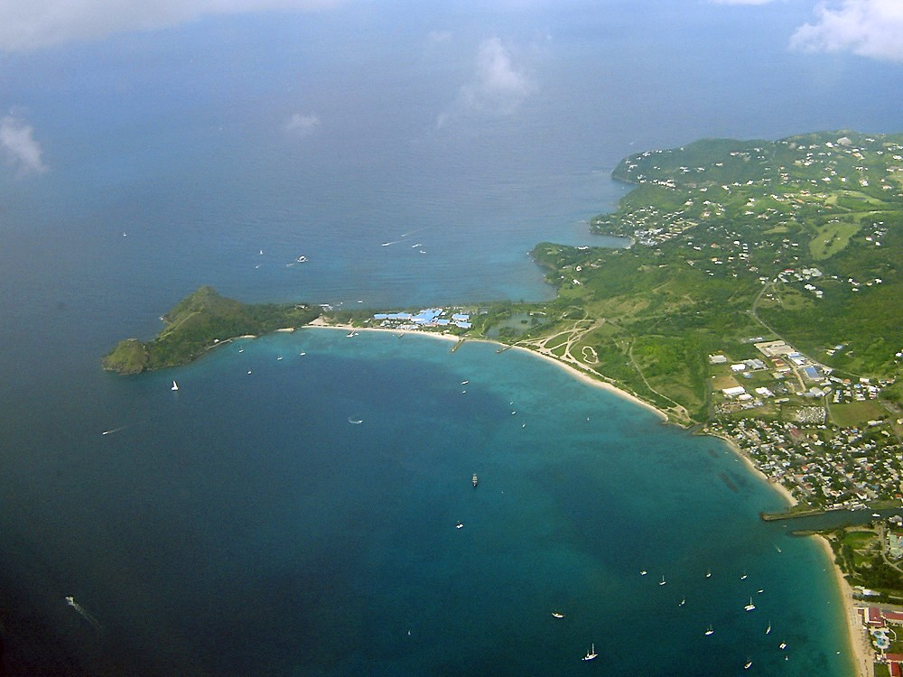 BEst tours in St Lucia to Pigeon Pointe with James Touring Service